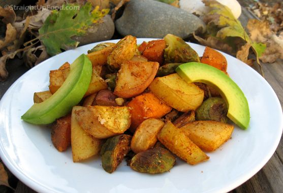 Spicy Root Vegetable MedleyRoasted Roots, Spicy Roots, Roots Veggies, Medley Cake, Food, Mild Spicy, Vegetables Medley, Roots Vegetables, Vegetables Dishes