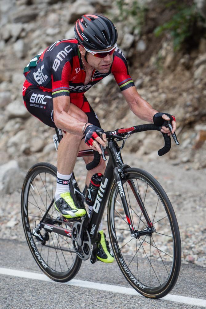 Tour of Utah 2014 - Stage 6: Salt Lake City - Snowbird 172.5km - Cadel Evans (BMC) on the way to his win.