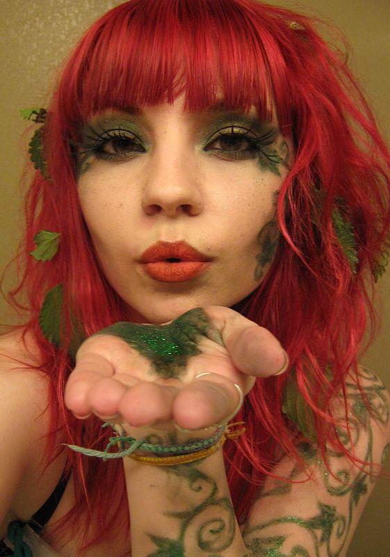 Poison Ivy Glamour by DecayedxElegance.deviantart.com on @deviantART