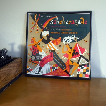 Scheherazade LP  by George Maas