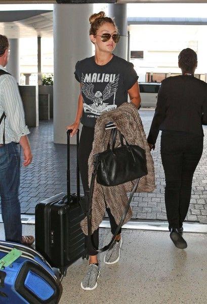 Gigi Hadid Departs on a Flight at LAX