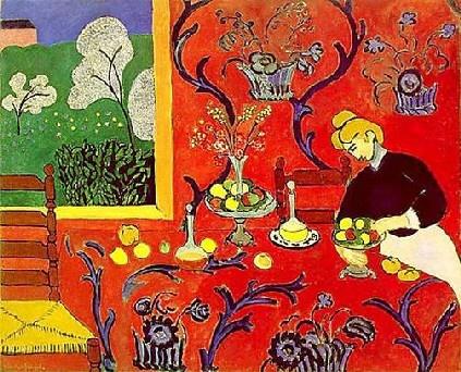 Art contemporani, Armonía en rojo de Matisse, Expresionismo