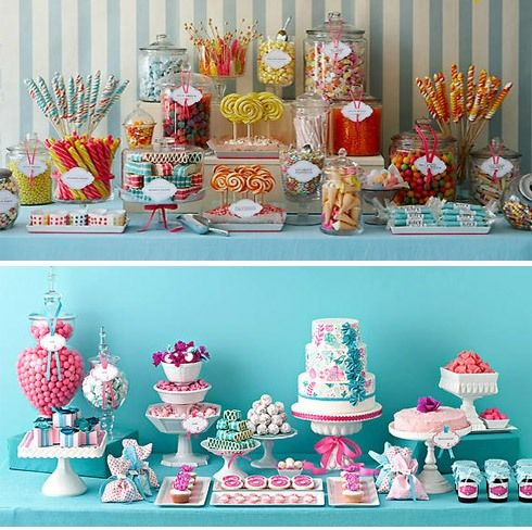Candy party - Fiesta de 15 tematica>> love it for a sweet 16