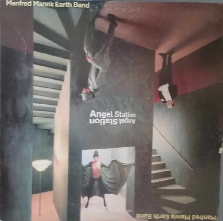Manfred Mann's Earth Band, Angel Station, Vintage Record Album, Vinyl LP, Classic Rock and Roll, English Rock Band, Very Good ++ Condition by VintageCoolRecords on Etsy
