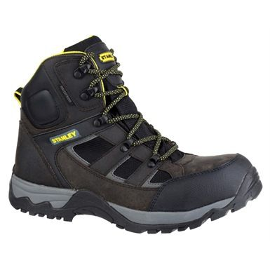 These stylish yet practical Stanley Kelso safety boots have a wealth of features - they are both antistatic and water resistant, whilst offering EN345 compliant toe protection, heel energy absorption and slip resistance.