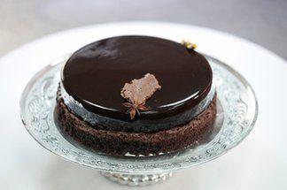 recette de L'entremet tout chocolat de James Berthier