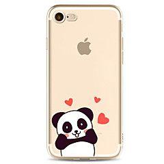 For Apple iPhone 7 7 pluss 6s 6 pluss veske deksel panda mønster malt høy penetrasjon tpu materiale mykt tilfelle telefonveske – NOK kr. 35