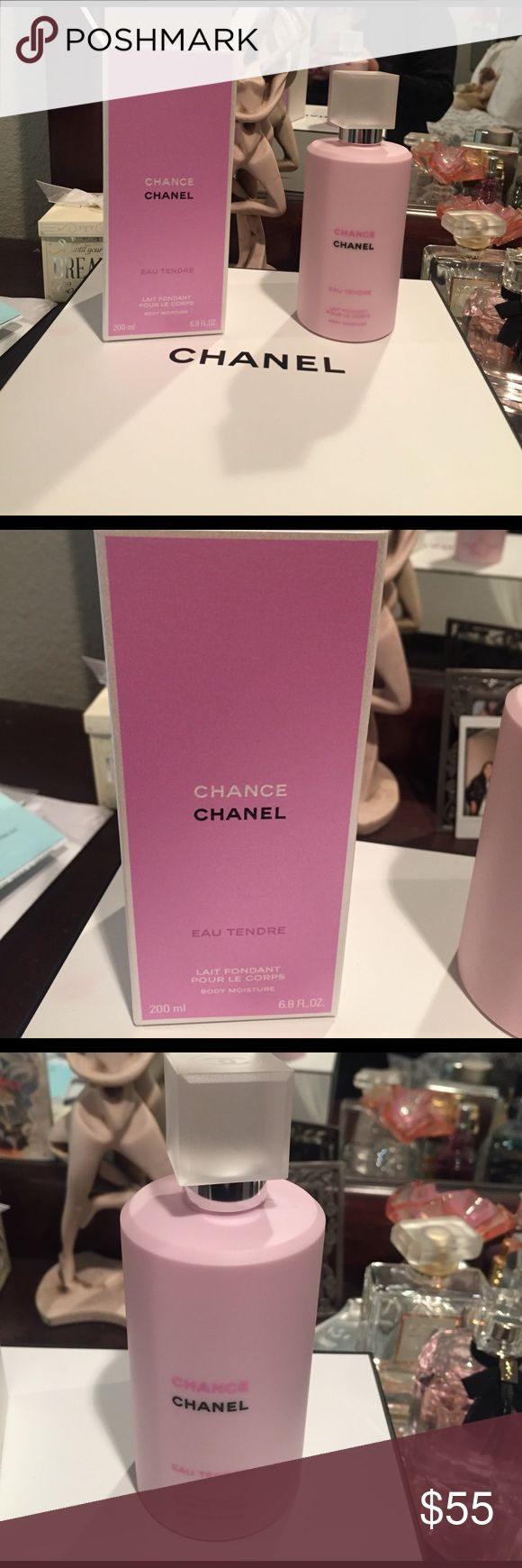 Chance chanel body moisture New chance Chanel body lotion as seen in pictures size 6.8fl oz CHANEL Makeup