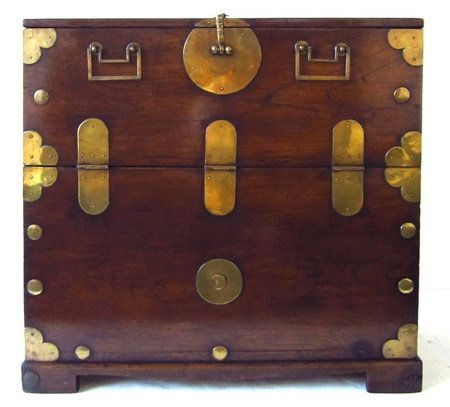Antique Korean Bandaji Chest.