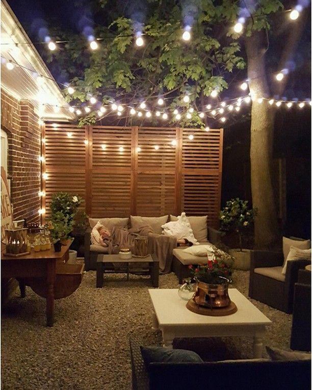 Un patio inspirant à faire rêver bonne soirée à tous muramur