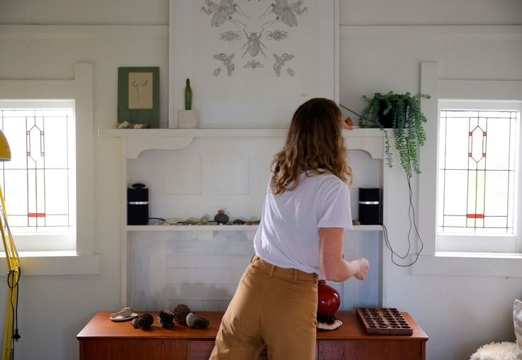 "Inside one of eight joint flats, a space Holly describes as a ""modern commune"", lives Holly, her boyfriend Chris and their 4-year-old daughter Willow."