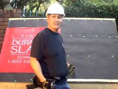 How to install a new slate roof by Durable Slate - Slate Roofing Contractors - YouTube