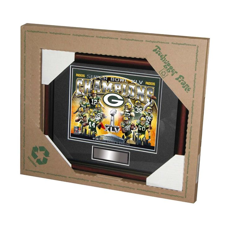 Tree Hugger 8 x 10 Super Bowl 45 Green Bay Packers