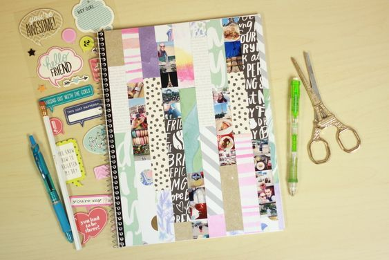 Adorable Way To Decorate A Notebook