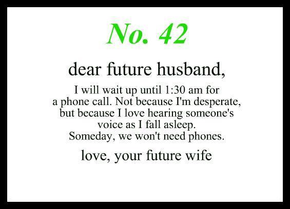 my future husband quotes like success