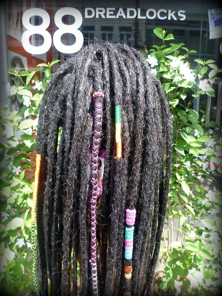Real Dreadlock Wig 93