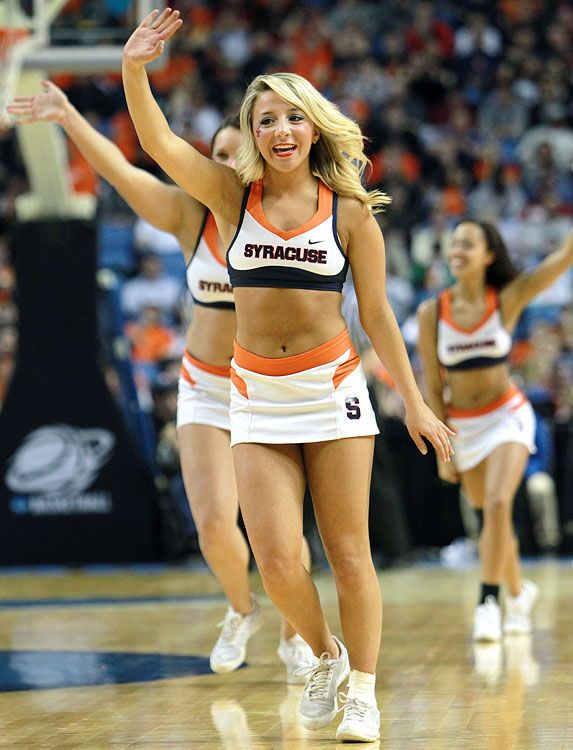 College Cheerleader Candids