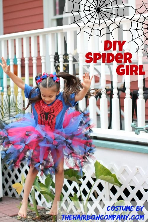 Spider Girl Tutu | Tutorial and supplies