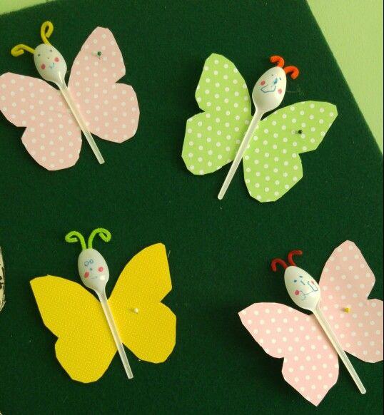 Πεταλουδες με κουταλι