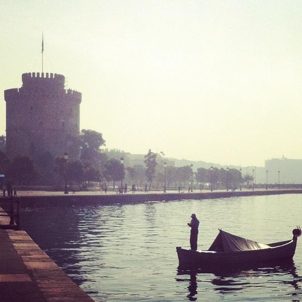 Foggy, romantic ... Thessaloniki, Greece