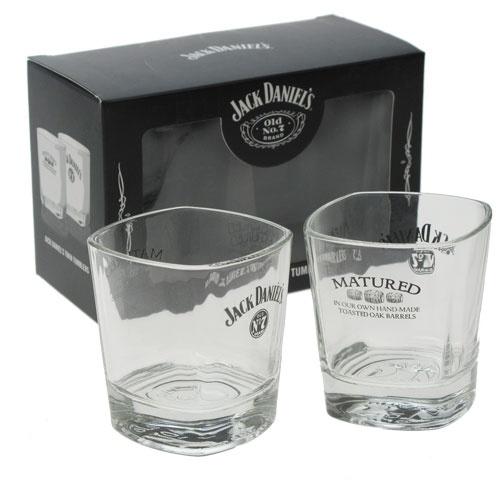 Personalised Jack Daniels Whisky Tumblers Set £34.99