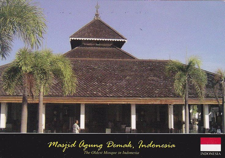 Great Mosque of Demak of Central Java island is one of the oldest mosques in Indonesia