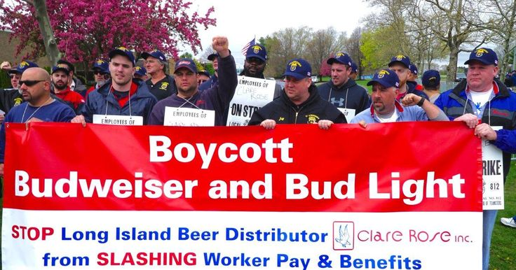 Clare Rose beer distributors still striking to keep pensions #Cronaca #iNewsPhoto