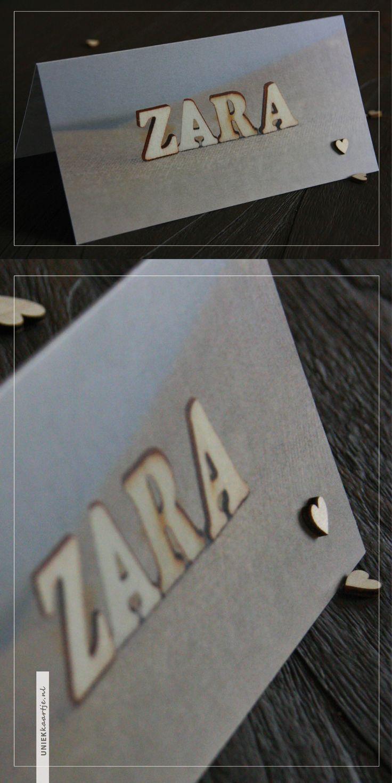 uniekkaartje.nl | Geboortekaartje Zara | fotografie | houten letters | naam | nu met gratis écht houten hartje | grijs blauw | unisex | jongen | meisje | Studio Altena