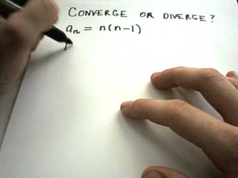 What is a Sequence?  Examples showing convergence and divergence of sequ... (SEE HIS OTHER VIDEOS FOR MATH REVIEW)