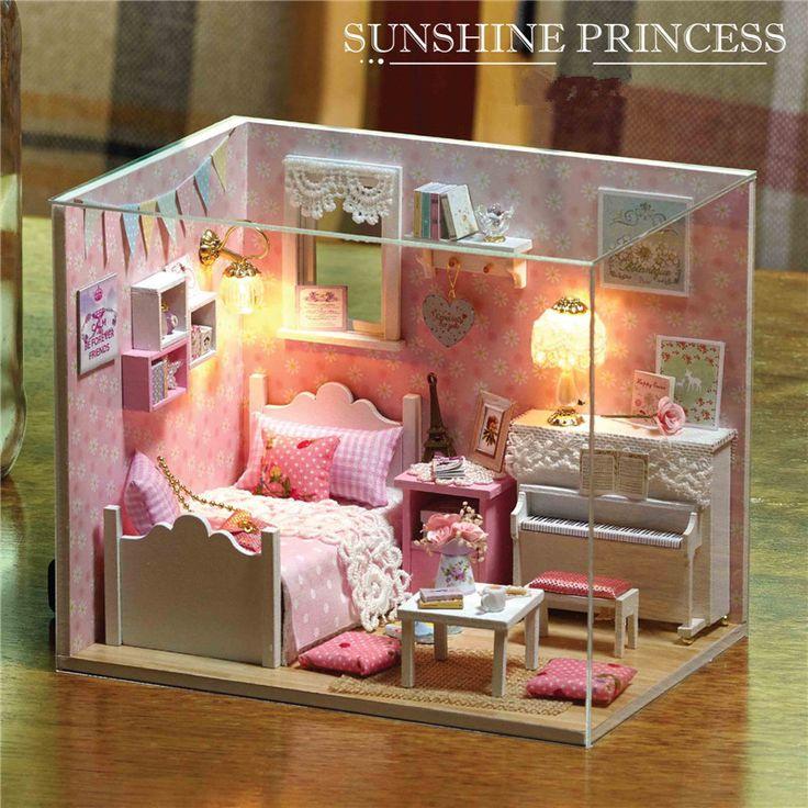 25 beste idee n over houten poppenhuis op pinterest for Poppenhuis meisje