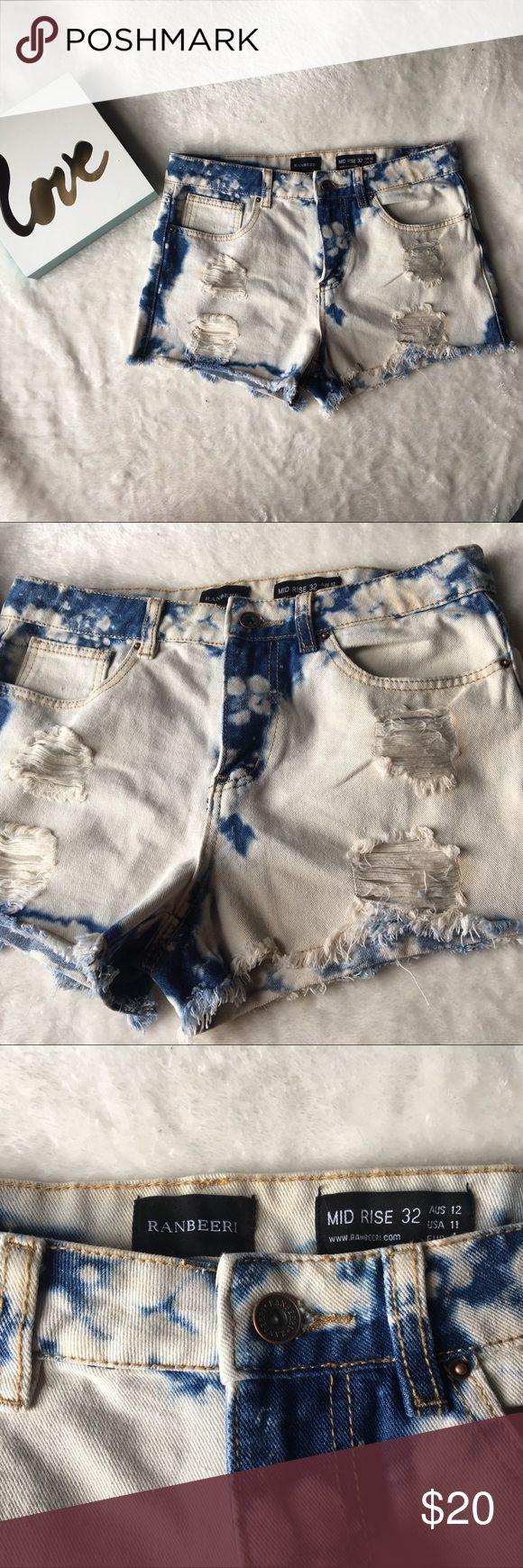 ✨BOGO✨Acid Wash Shorts Ranbeeri acid wash shorts perfect for summer and super cute! ranbeeri Shorts Jean Shorts