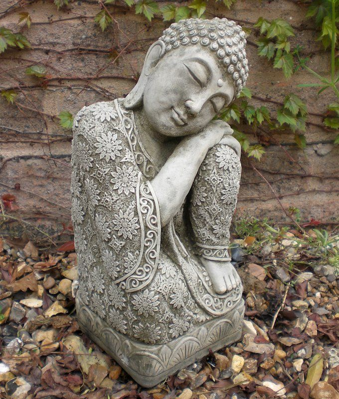 Stone Garden Buddha Statues Garden Statues Add Interest To A Yard, Deck Or  Patio