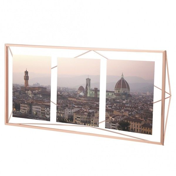 Umbra Prisma Multi Photo Display Copper Red Home Decormulti
