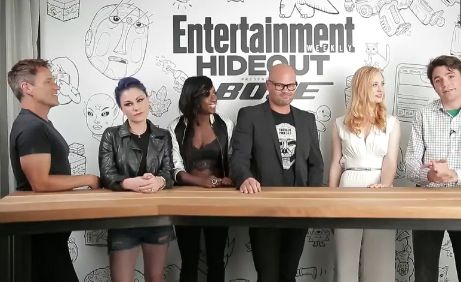 Stephen Moyer and the cast of True Blood are interviewed by EW at Comic Con