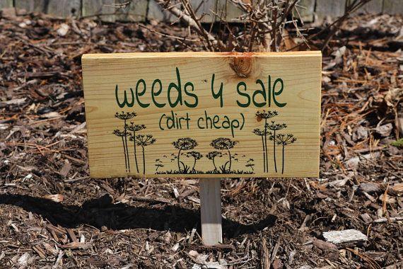 Garden Art Garden Wood Sign Whimsical Garden Decor Nature Gift Etsy In 2020 Wood Signs House Warming Gifts Wedding Bottle Opener