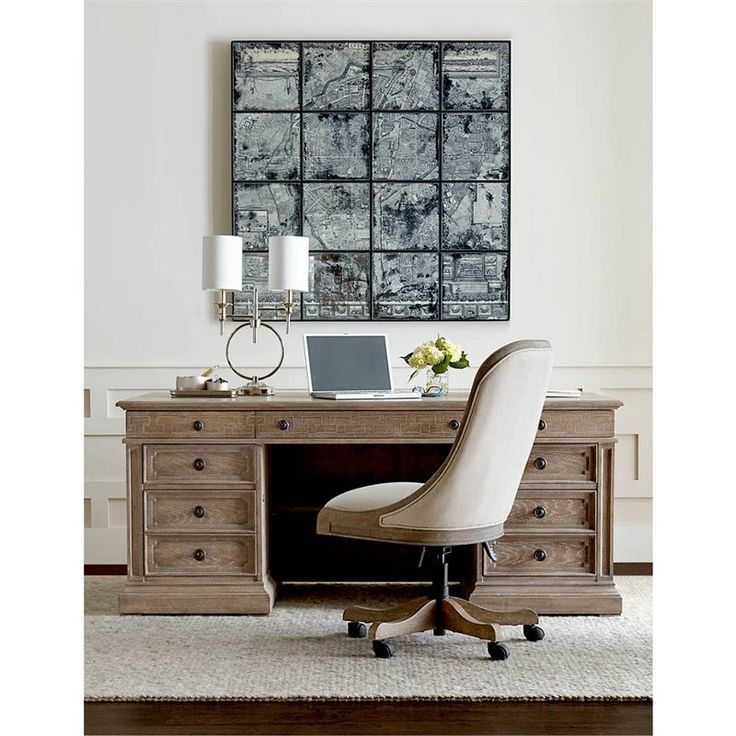 Stanley Furniture Wethersfield Estate Executive Desk   An Executive Desk  With Down To Earth Charm, The Stanley Furniture Wethersfield Estate  Executive Desk ...