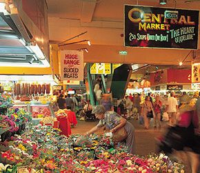 'Adelaide Central Market - where I shop' quoted by previous pinner • Adelaide city • Adelaide's best