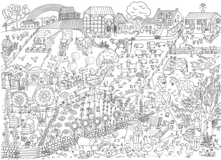 12 best images about v rvi ise postrid really giant for Giant coloring pages for adults