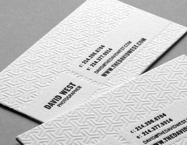 21 best Business Cards images on Pinterest Business cards - letterpress business card