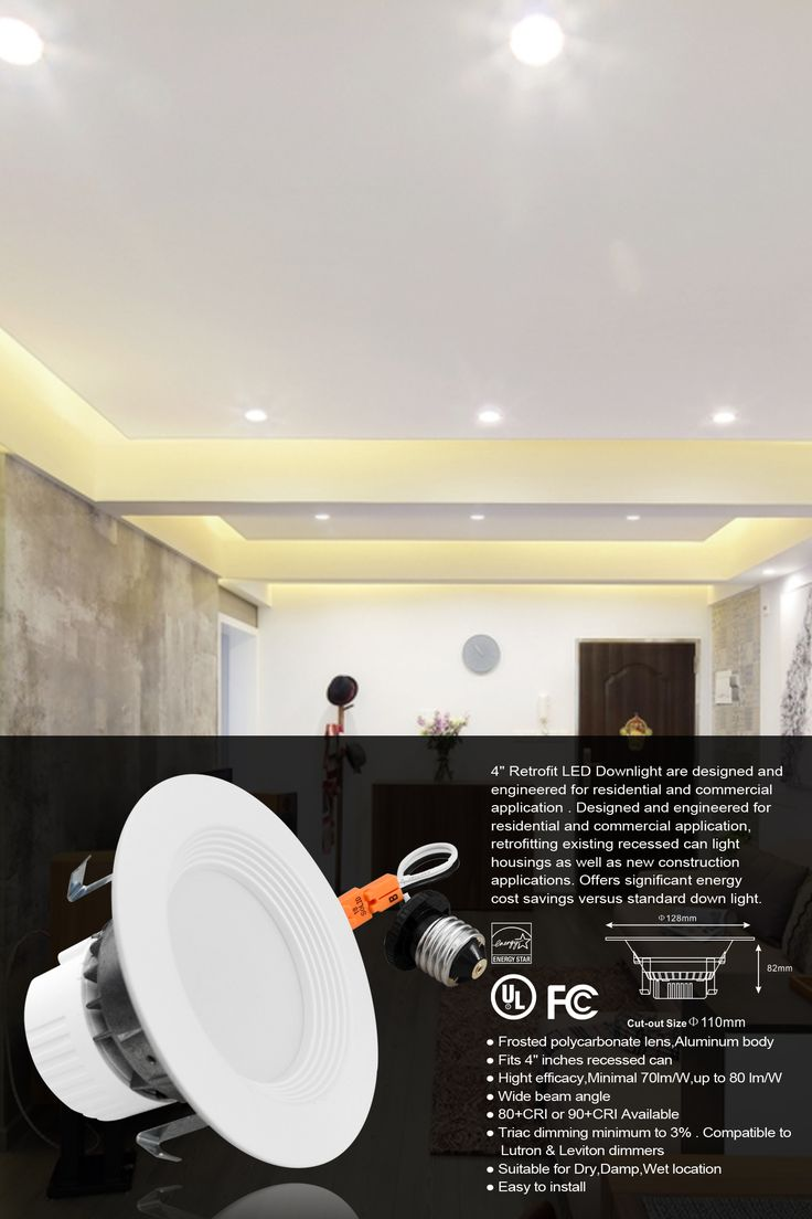 Designed And Engineered For Residential Commercial Lication Retroing Existing Recessed Can Light Housings As Well New Construction