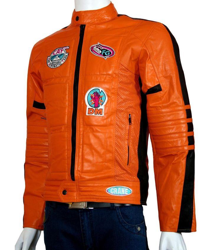 Kill Bill Motorcycle Jacket Men