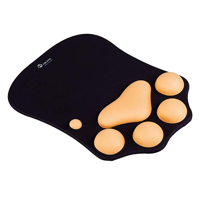 Gel-Mauspad Ergonomisches Rot Handauflage Mouse-Pad PC Maus-Pad Anti Slip