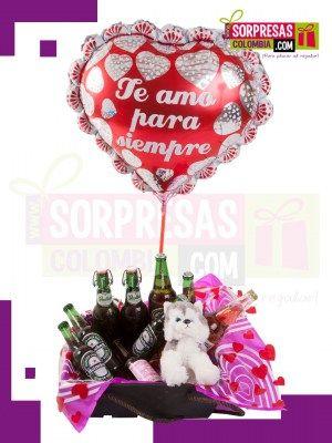 BRINDO POR TI Sorprende con este especial COMBO CREATIVO que enamorara una vez mas a esa persona especial. Visita nuestra tienda online www.sorpresascolombia,com o comunicate con nosotros 3003204727 - 3004198