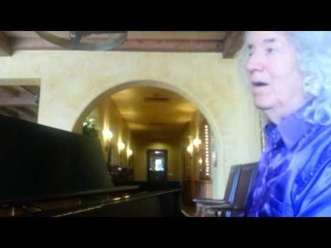 CB PLAYS  CRAZY   ON THE BIG BALDWIN PIANO
