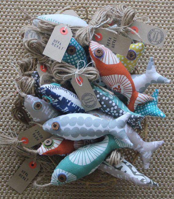 Beautiful Lotta Fish Light Pull/ door by charliedeighton on Etsy, $14.00
