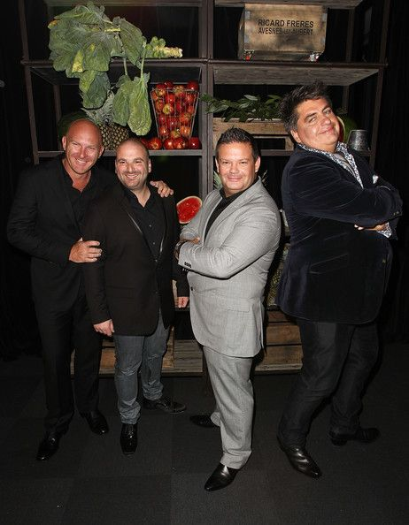 Masterchef judges Matt Moran, George Calombaris, Gary Mehigan and Matt Preston attend the Masterchef Australia Network Ten launch party, launching the new series of Masterchef, at the Luminare, South Melbourne on April 23, 2012 in Melbourne, Australia. Best master chef ever!