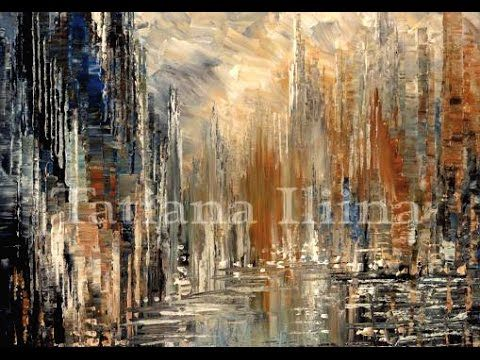 Resultado de imagen de silver abstract paintings
