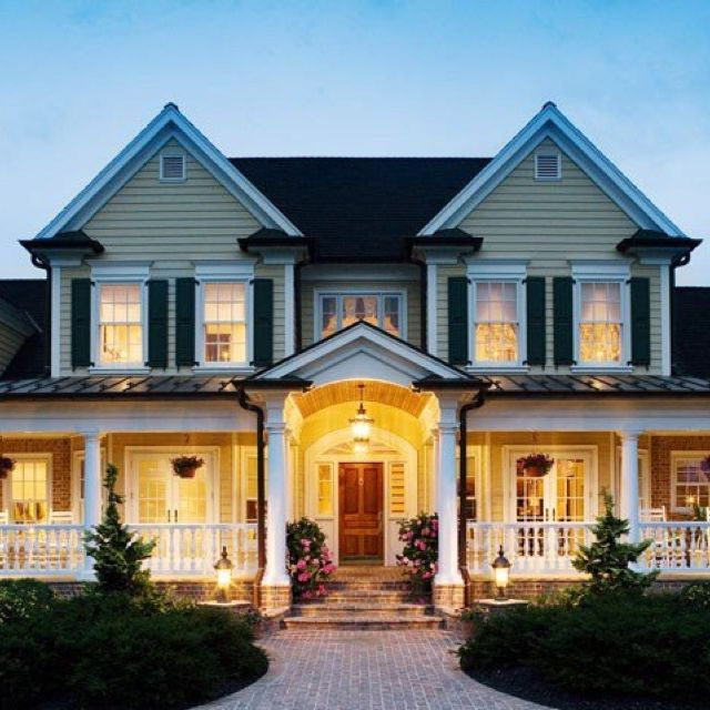 I like the brick steps leading to the porch beautiful Brick home plans with wrap around porch