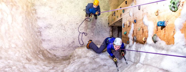 Vertical Chill - Real Indoor Ice Climbing Wall in London & Manchester