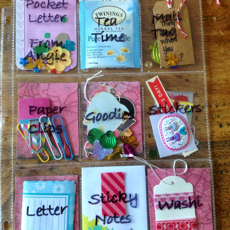 My Style To A Tea: Pocket Letters - A New Way to send Snail Mail